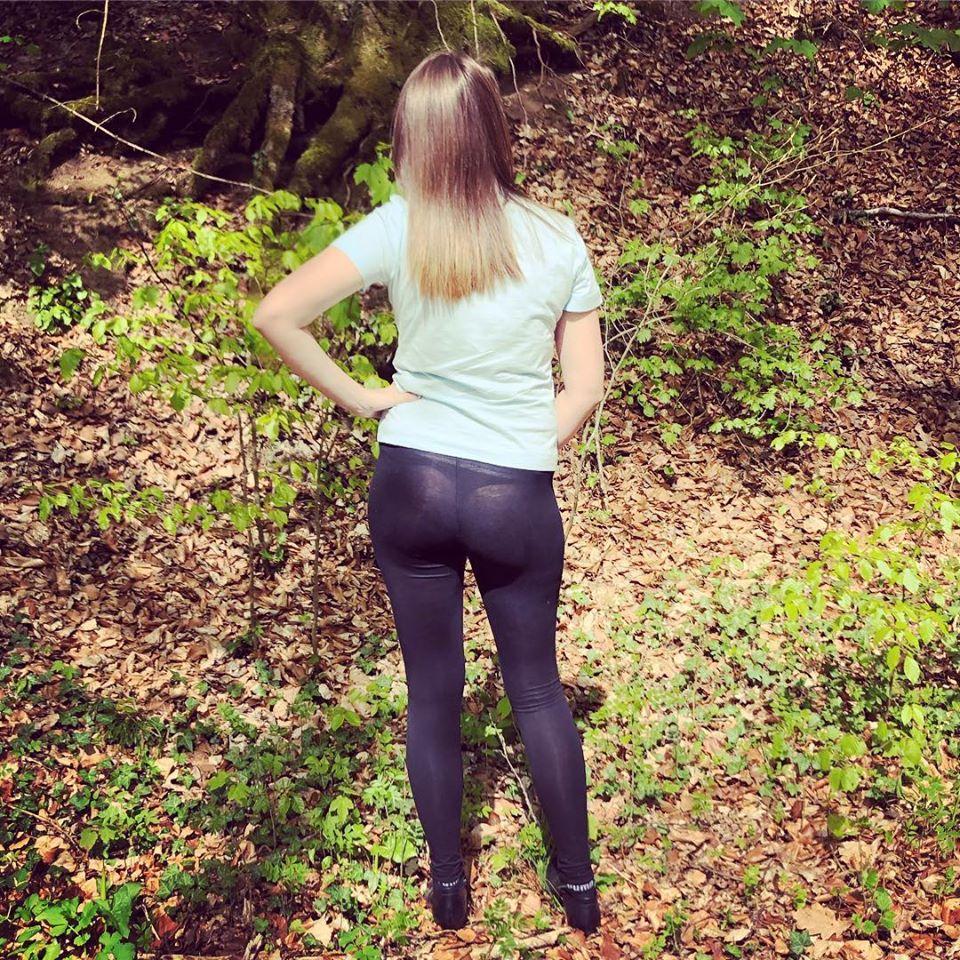 Schwarze Leggings von Tally-Weijl