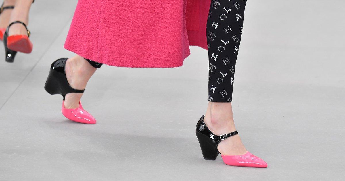Chanel-approved: Leggings sind diesen Frühling wieder im Trend