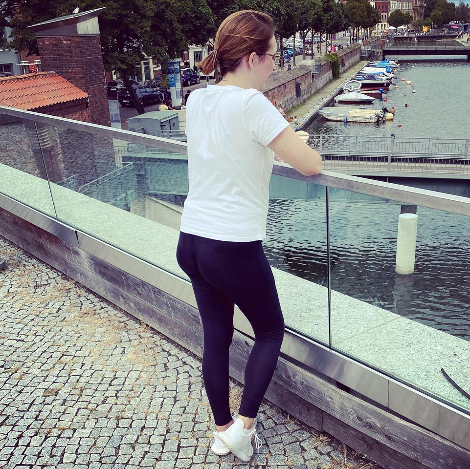 Schwarze Leggings von Calvin Klein