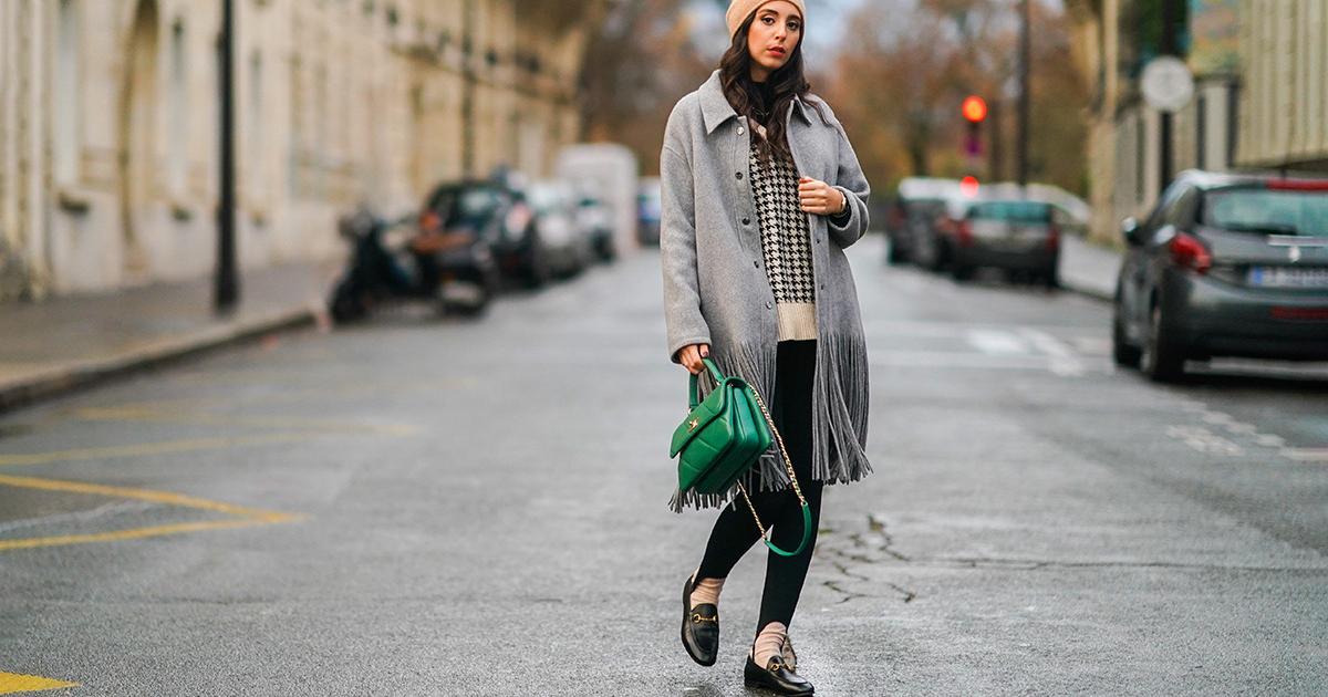Welcome back! Die Steg-Leggings ist wieder Modetrend – so trägt man sie 2021